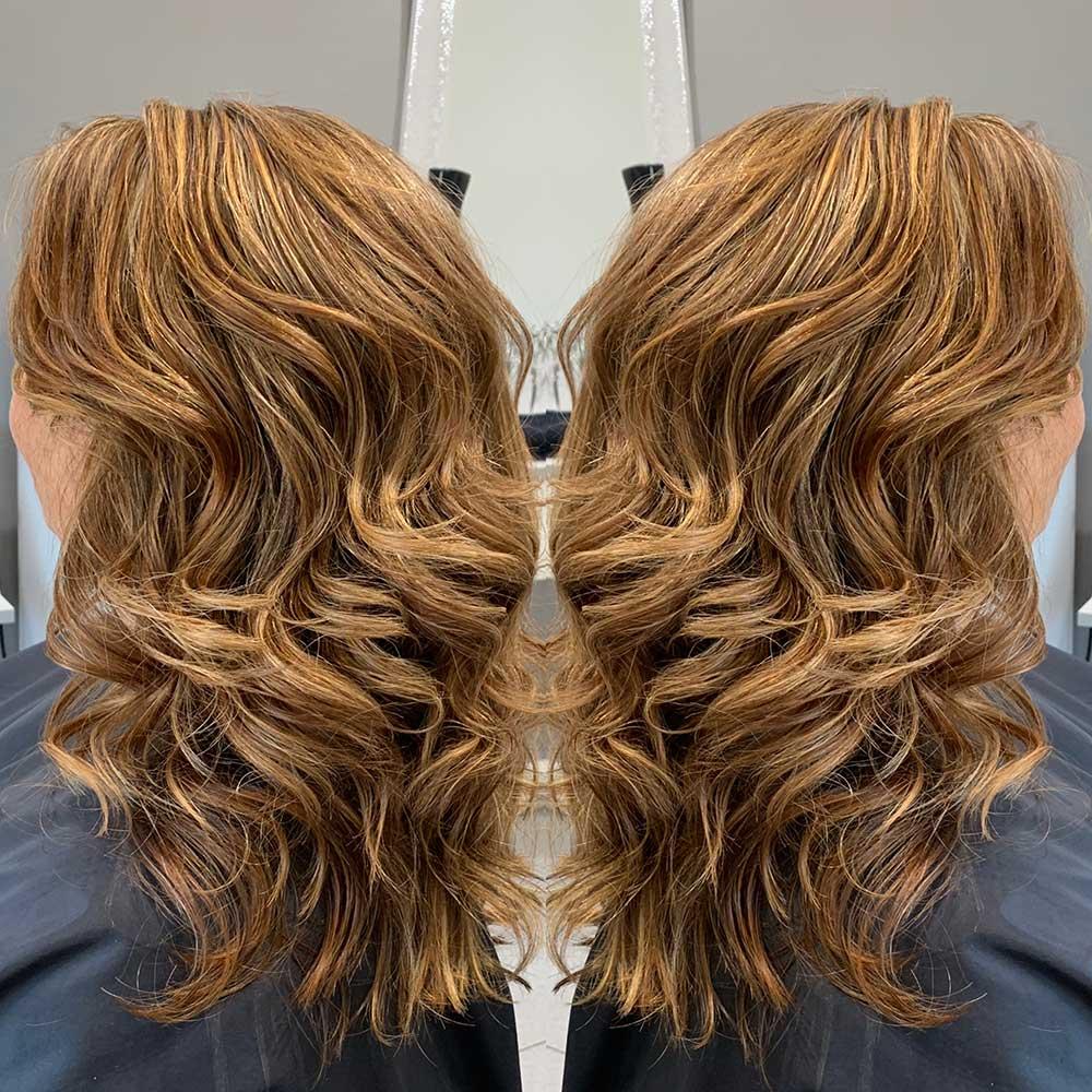 Aveda hair colour